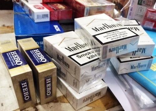 Xin giấy phép nhập khẩu thuốc lá