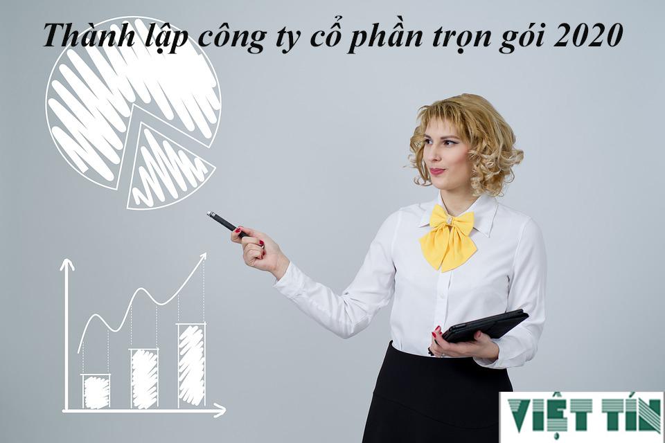 Thành lập công ty cổ phần trọn gói cùng Luật Việt Tín