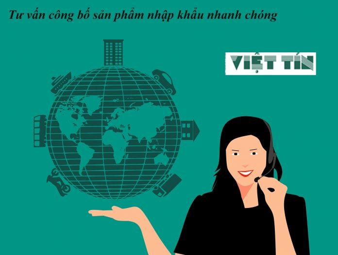 Công bố sản phẩm hàng hóa nhập khẩu tại Việt Tín