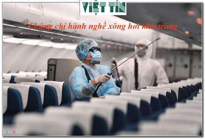 Xin cấp chứng chỉ hành nghề xông hơi khử trùng dễ dàng tại Việt Tín