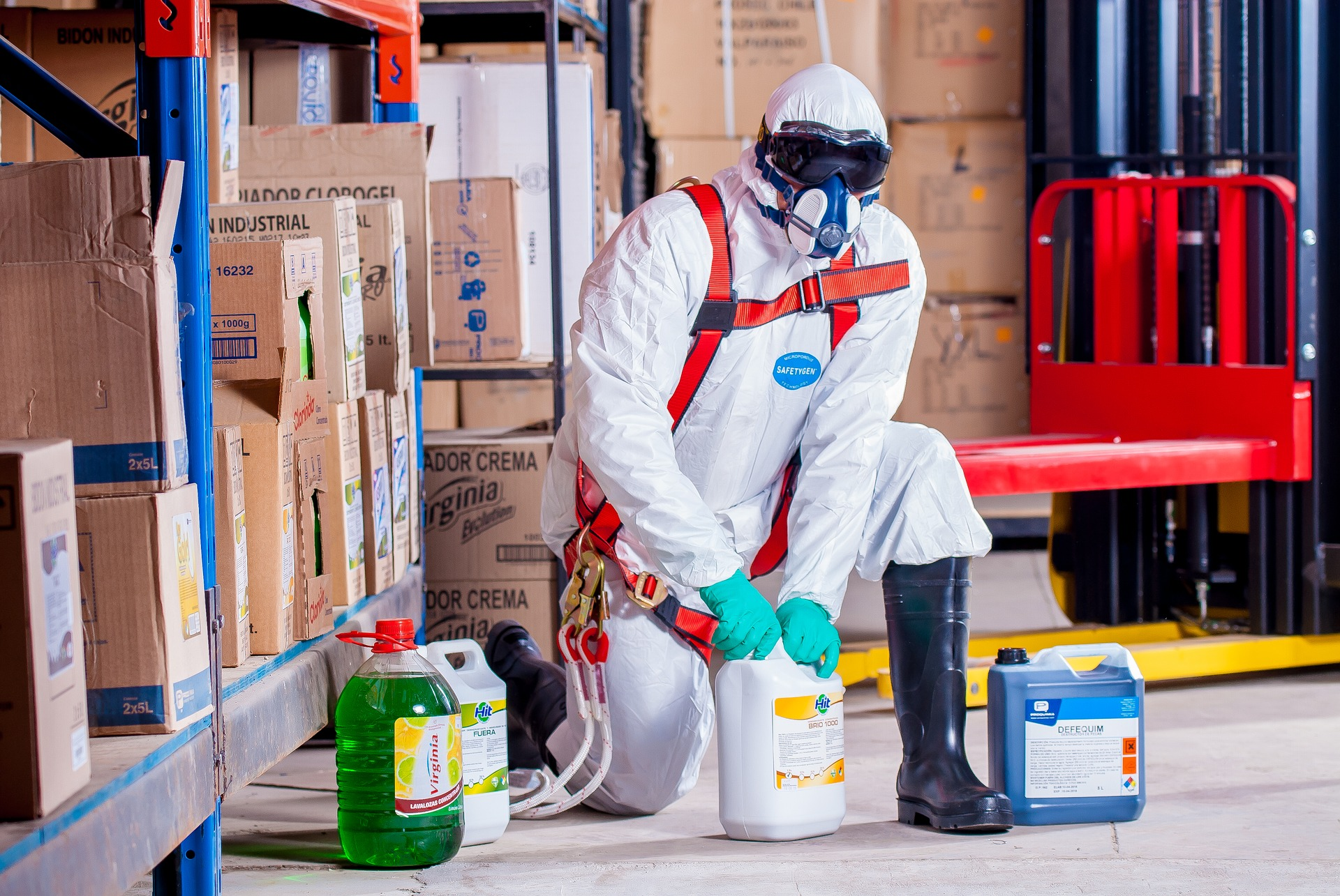 Đăng ký hóa chất công nghiệp