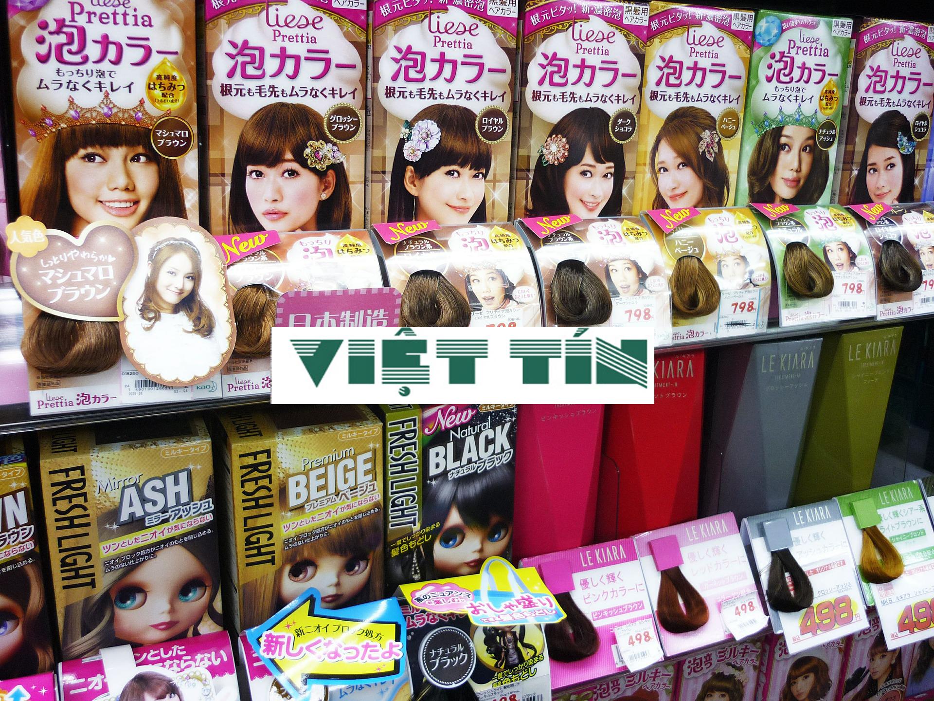 Thuốc nhuộm tóc là mỹ phẩm phải đăng ký lưu hành