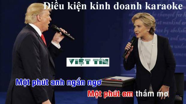 Điều kiện kinh doanh karaoke