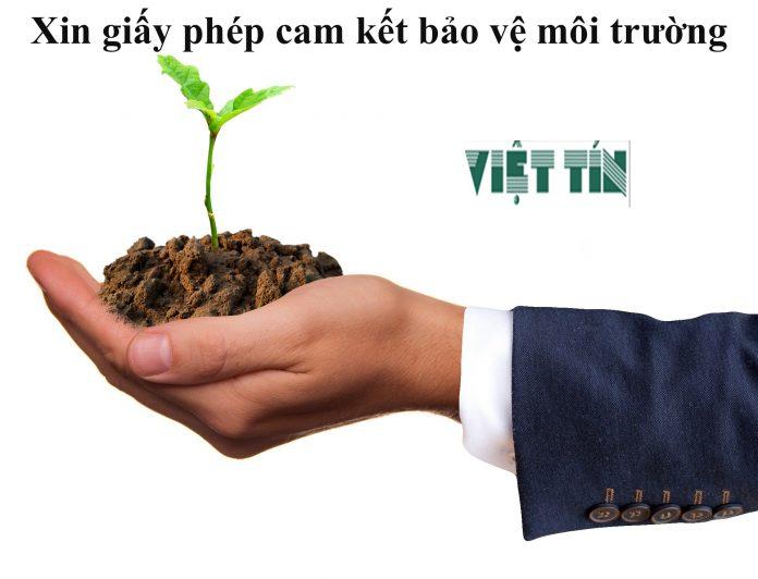 Xin giấy phép cam kết bảo vệ môi trường đơn giản cùng Luật Việt Tín