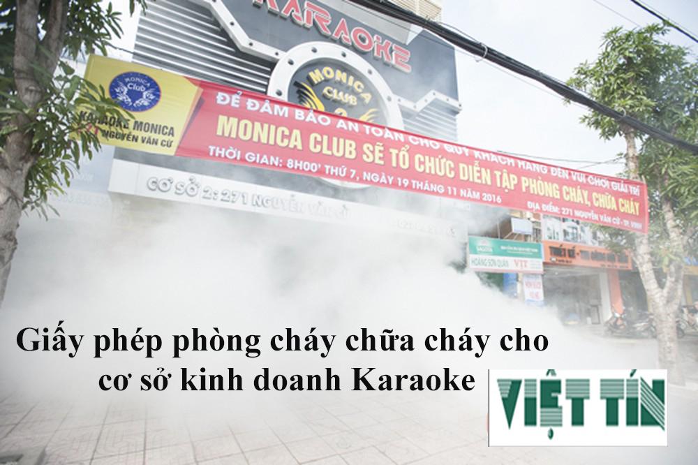 Xin giấy phép phòng cháy chữa cháy kinh doanh Karaoke