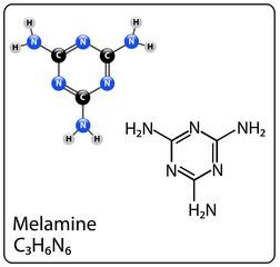 Melamine với hàm lượng cao trong sữa sẽ thành độc tố cho sản phẩm