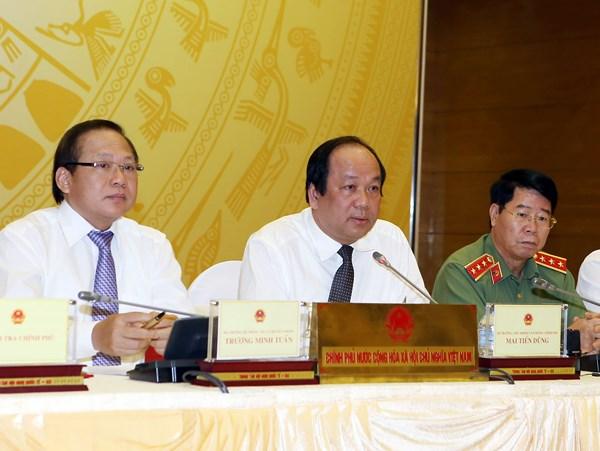 Bộ trưởng Mai Tiến Dũng nói về dự án 18 tầng không phép của FLC
