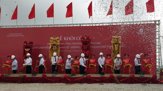 Tái khởi động dự án Khu trung tâm hành chính TP Thanh Hóa