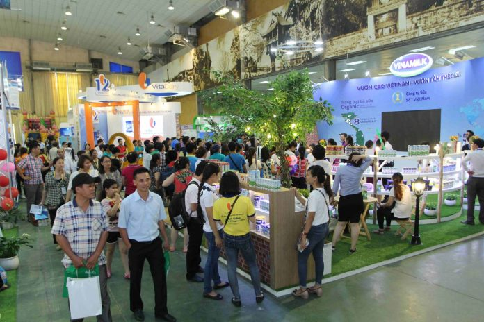 Triển lãm quốc tế ngành sữa Việt Nam