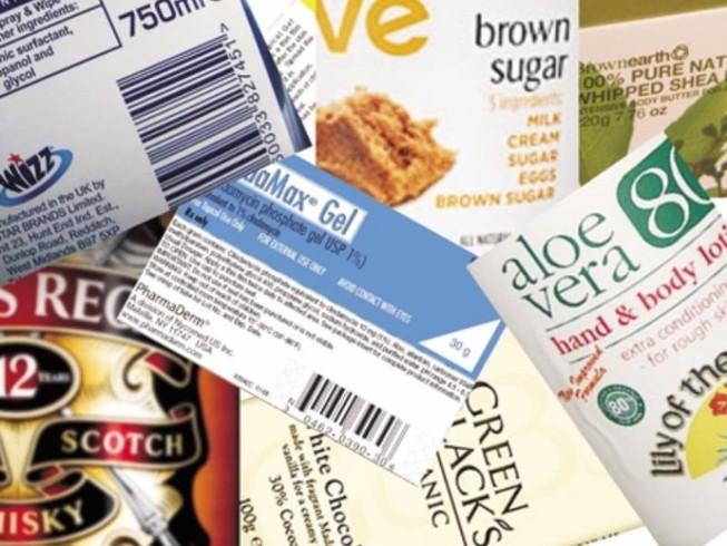 Nhãn hàng hóa cần được phân loại ghi rõ ràng
