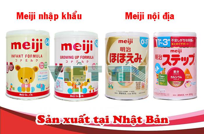 sữa Meiji không đạt tiêu chuẩn Việt Nam