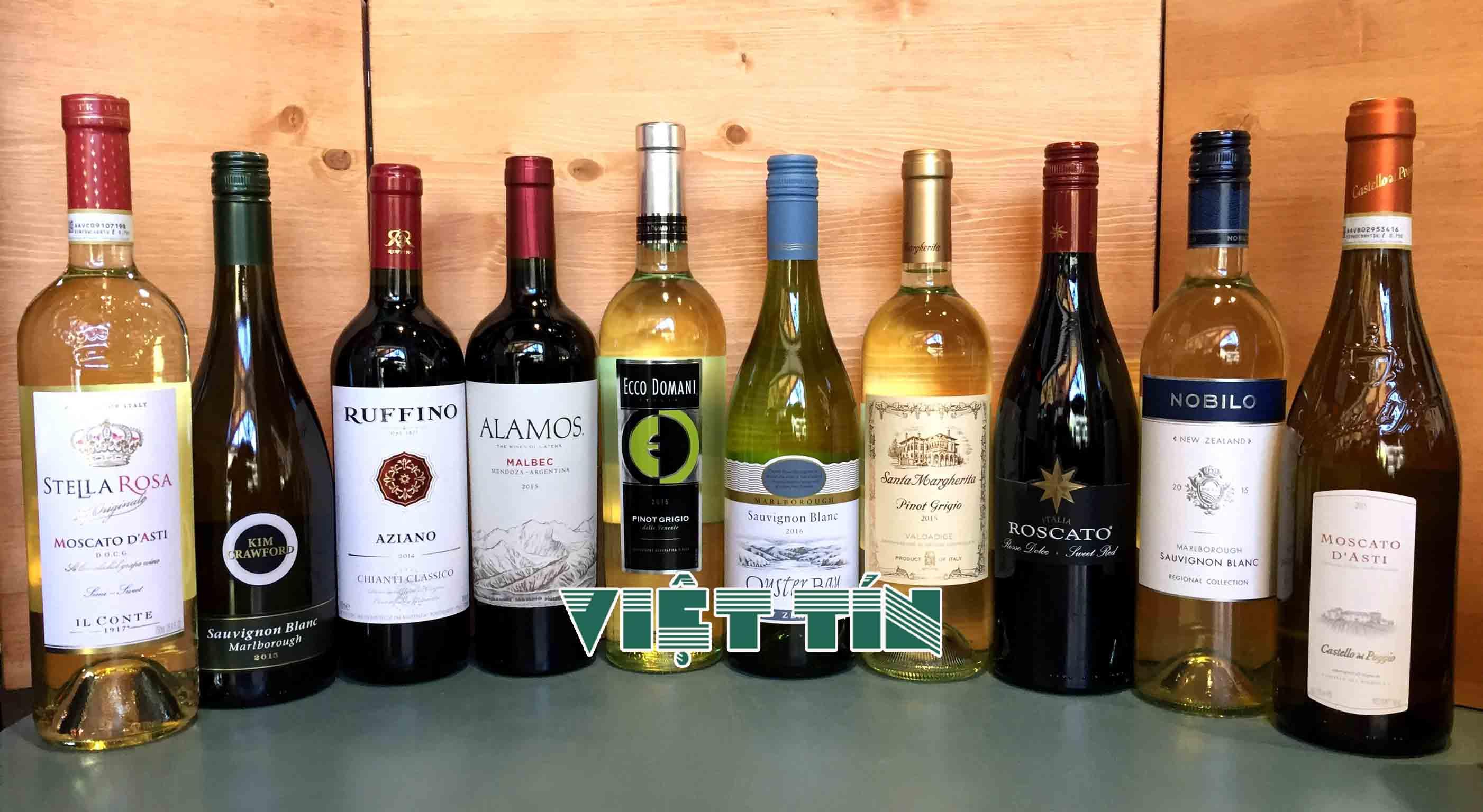 Thủ tục hải quan đối với mặt hàng rượu nhập khẩu