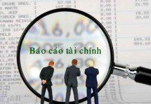 Hình ảnh báo cáo năng lực tài chính của nhà đầu tư
