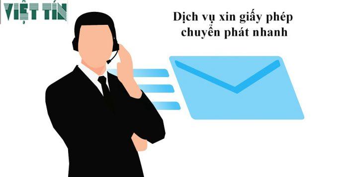 Dịch vụ xin giấy phép chuyển phát nhanh của Việt Tín