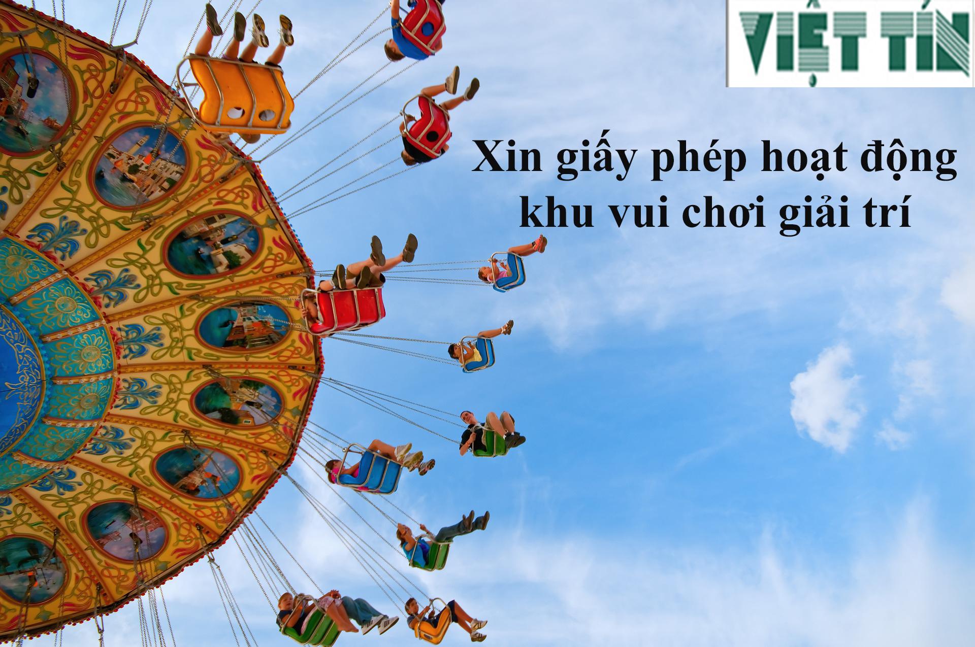 Xin giấy phép hoạt động trung tâm giải trí tại Luật Việt Tín