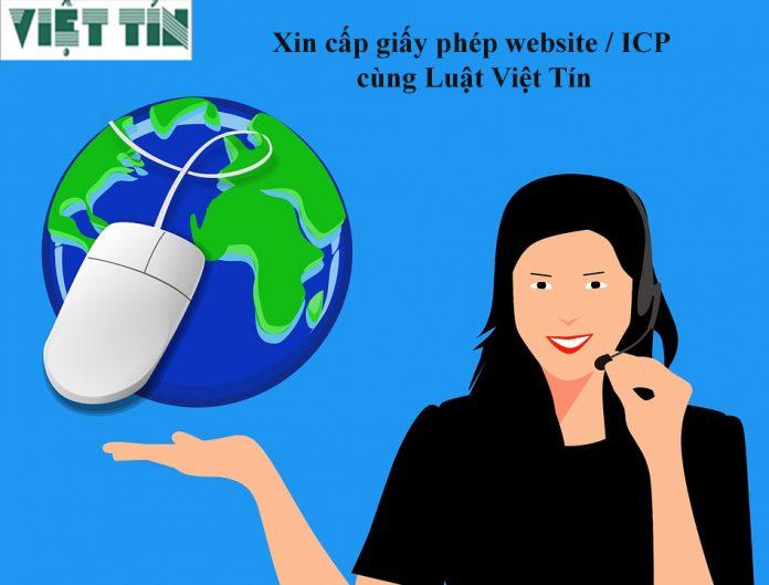 Xin cấp giấy phép website/ICP cùng Luật Việt Tín