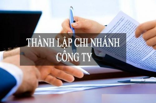 Thành lập chi nhánh công ty TNHH hai thành viên