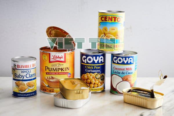 Công bố tiêu chuẩn chất lượng thực phẩm đồ hộp