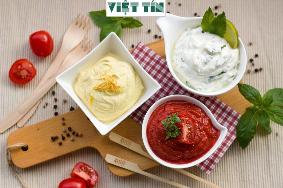 Tương cà tương ớt là sản phẩm quen thuộc đối với các món ăn nhanh hiện nay