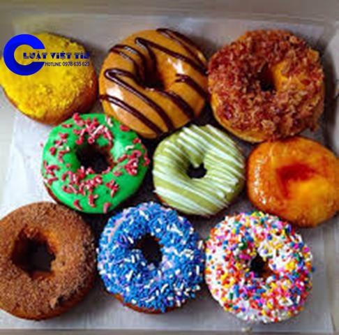 Những chiếc bánh donuts không còn quá xa lạ trên thị trường Việt Nam