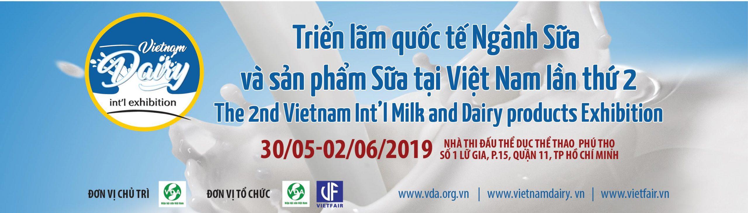 Triễn lãm ngành sữa tại Tp Hồ Chí Minh năm 2019