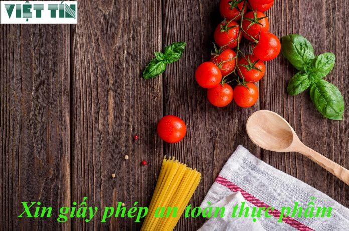Xin giấy phép an toàn thực phẩm đơn giản cùng Luật Việt Tín