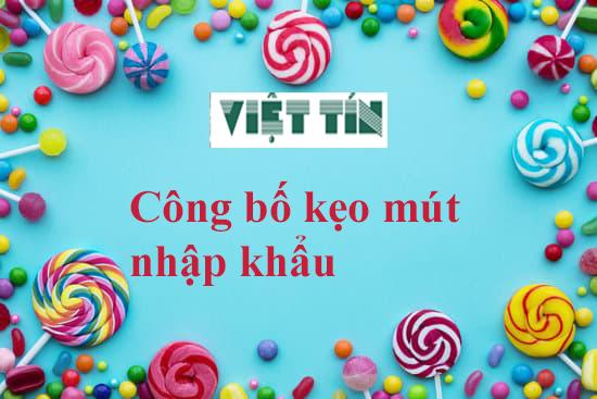 Lựa chọn dịch vụ công bố bánh kẹo Việt Tín để giải quyết nhanh các thủ tục pháp lý, nhanh nhận được số công bố sản phẩm