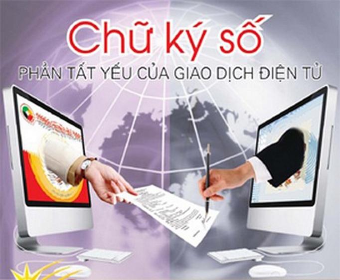 Chữ ký số phần tất yếu của giao dịch điện tử