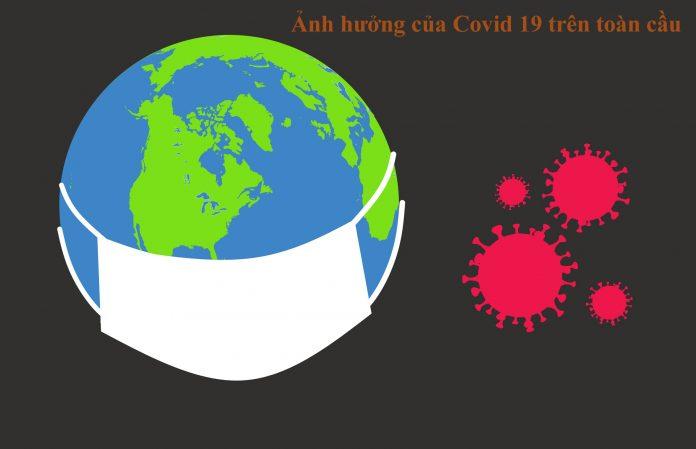 Ảnh hưởng Covid 19 trên toàn cầu