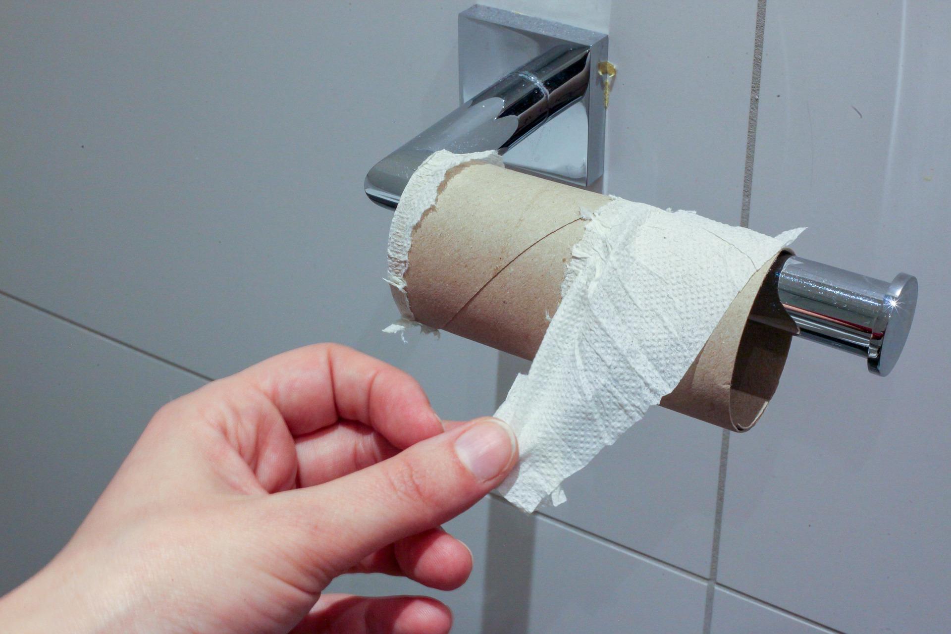 giấy vệ sinh là mặt hàng thiết yếu đối với cuộc sống của con người