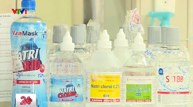 Các loại nước muối sinh lý có tác dụng lớn đối với việc chống nCoV